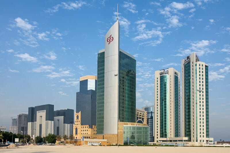 Commercial District of Doha, Qatar