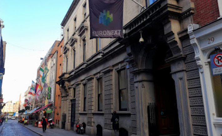 Euronext Dublin stock exchange